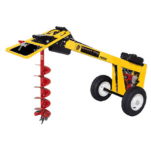 one man post hole digger for rent