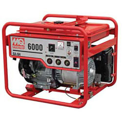 6000 watt generator for rent