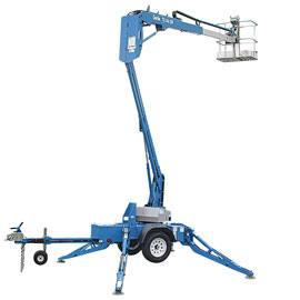 Towable boom lift for rent