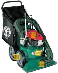 leaf vacuum for rent