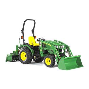 john deere tractor for rent