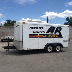 box trailer for rent