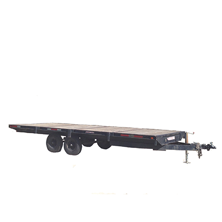 flat bed trailer for rent