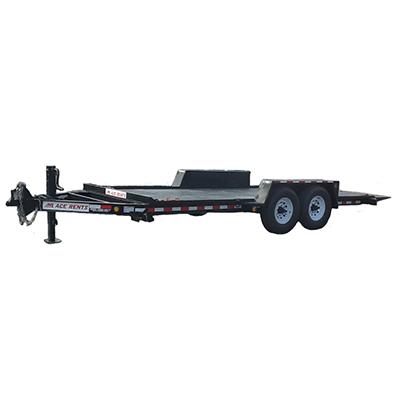 tilt deck trailer for rent